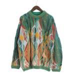 クージー COOGI classic セーター ニット カシミヤ デザイン カラフル オーストラリア製 マルチカラー M メンズ【中古】【ベクトル 古着】