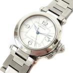 カルティエ Cartier パシャC 2324 ボーイズ 腕時計 ウォッチ 白文字盤 自動巻き AUTOMATIC レディース【中古】【ベクトル 古着】