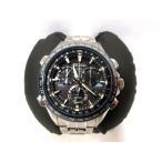 セイコー SEIKO アストロン ASTRON 腕時計 GPSソーラー クロノグラフ ネイビー文字盤 8x82-0AB0-1 SBXB005 メンズ【中古】【ベクトル 古着】