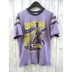 ブートレガーズ FULL DIPPED Tシャツ 半袖 HUNCKE motors Inc. パープル 紫 M 春夏 メンズ 【ベクトル 古着】【中古】