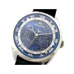 シチズン CITIZEN カンパノラ コスモサイン CTV57-1231 腕時計 クォーツ ブルー文字盤 メンズ【中古】【ベクトル 古着】