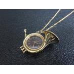 オリエント ORIENT ラッパ型 手巻き ネックレス 時計 ヴィンテージ メンズ レディース【中古】【ベクトル 古着】