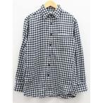 ユニクロ UNIQLO シャツ ネルシャツ ギンガムチェック S 黒 白 ブラック ホワイト レディース【中古】【ベクトル 古着】