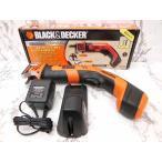 BLACK&DECKER 6V 充電式ハンディソー 充電ノコギリ CHS6000 電動工具 ※Y-16111502【中古】【ベクトル 古着】