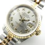 ロレックス ROLEX 腕時計 DATEJUST デイトジャスト 69173 W番 自動巻き オートマチック  コンビ SS/YG シルバー ゴールド H-18020111【中古】【ベクトル 古着】