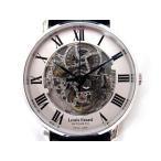 未使用品 ルイ エラール LOUIS ERARD 61233AA22 BDC02 Excellence Skeleton AUTOMATIC エクセレント スケルトン 自動巻き 腕時計 シルバー SS メンズ【中古】