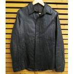 リップヴァンウィンクル RIPVANWINKLE ラマ革 レザー フック シャツ ジャケット 3 ブランド古着ベクトル 中古 161221 0060B メンズ【中古】【ベクトル 古着】