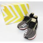 アディダス adidas  by kolor PURE BOOST ZG 茶 AQ4445 US8.5 ブラウン ブランド古着ベクトル 中古▲ 170612 0060 メンズ