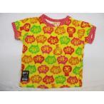 ショッピングビッツ ビッツ BIT'Z 総柄 半袖Tシャツ 猫 黄色 キッズ 子供服 100【中古】【ベクトル 古着】