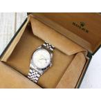 ロレックス ROLEX 腕時計 ウォッチ オイスター デイトジャスト X番 16234 自動巻き WG 角ダイヤインデックス /RZ SSAW メンズ【中古】【ベクトル 古着】