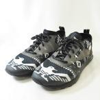 リーボック Reebok ZOKU RUNNER HM for ZOZOTOWN ゾクランナー スニーカー靴 紺 白24.5cm メンズ【中古】【ベクトル 古着】