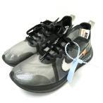 【中古】ナイキ NIKE ★AA☆NIKE × OFF-WHITE THE 10 ZOOM FLY AJ4588-001 オフホワイト ズームフライ 黒ブラック 27cm 靴スニーカー メンズ 【ベクトル 古着】