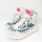 【中古】オフホワイト OFF WHITE ★AA☆ODSY-1000 オデッセイ  ハイトップ ハイカットスニーカー 靴  OMIA162S208000420133 白  42 メンズ 【ベクトル 古着】