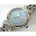 Antique Watches - ダイアナ Diana 腕時計 K18WG 金無垢 12Pダイヤ シェル文字盤 ホワイトゴールド 750 宝飾  電池交換 オーバーホール済 レディース【中古】【ベクトル 古着】