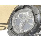 カシオジーショック CASIO G-SHOCK 腕時計 GA-100CF カモフラージュダイアル 20気圧防水 ワールドタイム 黒 ブラック C59468【中古】【ベクトル 古着】