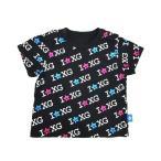 エックスガール ファーストステージ Tシャツ ベビー 80 黒