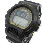 【中古】カシオジーショック CASIO G-SHOCK x A BATHING APE エイプ コラボ 腕時計 DW-6900 限定 08年 クォーツ 防水 黒 ブラック xゴールド K010702 メンズ