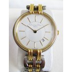 Antique Watches - クリスチャンディオール Christian Dior 腕時計 クオーツ シルバー ゴールド D66-11 電池交換済 ヴィンテージ D5701 SS K18 【中古】【ベクトル 古着】