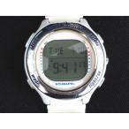 スキューバプロ SCUBAPRO Xtender Quattro ダイブコンピューター 腕時計 デジタル 白 /☆K【中古】【ベクトル 古着】
