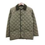 トラディショナルウェザーウェア Traditional Weatherwear キルティング ジャケット  コート 36 カーキ /☆G メンズ【中古】【ベクトル 古着】