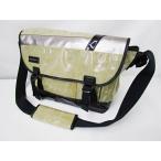 マスターピース MSPC コーティングメッセンジャーバッグ ベージュ系 鞄 ショルダー かばん 日本製 メンズ【中古】【ベクトル 古着】