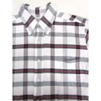 トムブラウン THOM BROWNE ボタンダウンシャツ シャツ 長袖 チェック 白 紺 赤 3 BDシャツ メンズ【中古】【ベクトル 古着】