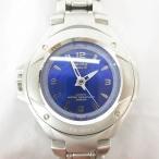 カシオジーショック CASIO G-SHOCK Baby-G 腕時計 アナログ クォーツ G-MS MSG-500 1799 防水 シルバー 青 *A319 レディース【中古】【ベクトル 古着】
