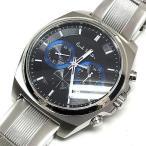 ポールスミス PAUL SMITH Final Eyes Chronograph クロノグラフ 腕時計 ウォッチ BA4-612 ブラック/ブルー 青 黒 SSAW メンズ【中古】【ベクトル 古着】