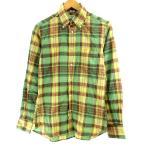 【中古】インディビジュアライズドシャツ INDIVIDUALIZED SHIRTS STANDARD FIT チェックBDシャツ 長袖 マルチカラー 14 1/2 32 約S メンズ 【ベクトル 古着】
