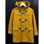 コムサイズム COMME CA ISM コート ジャケット ダッフル 長袖 130 イエロー 黄色 キッズ ※I-155 メンズ【中古】【ベクトル 古着】