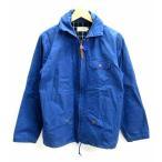 スチアンコル SOUTIENCOL ジャケット ジップアップ 長袖 コットン 100 青 ブルー 2 メンズ【中古】【ベクトル 古着】