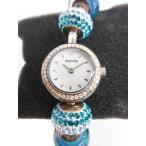 アキュリスト ACCURIST CHARMED 腕時計 LB1410 チャームドウォッチ アナログ  青 ブルー ジャンク品 /ny レディース【中古】【ベクトル 古着】