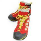 【中古】モンベル Montbell 381045103/1 タイオガブーツ トレッキングシューズ 靴 GORE-TEX 赤 マスタード グレー 黒 27.0 メンズ 【ベクトル 古着】