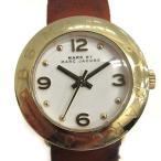 マークバイマークジェイコブス MARC by MARC JACOBS 腕時計 エイミー ミニ クオーツ ブラウン 茶 MBM8575 /YO27 レディース 【中古】【ベクトル 古着】