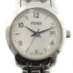【中古】フェンディ FENDI クラシコ orologi 腕時計 クオーツ シルバー色 2100L /YO26 ■SH レディース 【ベクトル 古着】