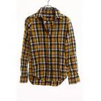 シップス SHIPS シャツ 開襟 オープンカラー 長袖 チ