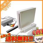 ショッピングWii Wii ウィー 本体 6点セット シロ 白 ニンテンドー 任天堂 Nintendo すぐ遊べる セット 中古 動作確認済 全国送料無料