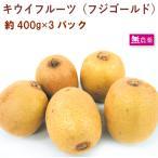 フジゴールド/キウイフルーツ400g 3パック 静岡県産無農薬栽培! 送料無料
