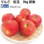 送料無料 りんご 青森 紅玉 3kg 低農薬 送料無料