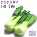 ポイント消化 食品 チンゲンサイ1袋 新潟県産低農薬栽培  送料別