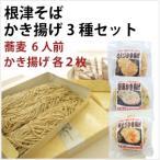 野川麺業 日岡商事 天ぷらそばセット (根津そば・かき揚げ3種 各2枚) 6人前 1セット 送料無料