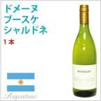 ドメーヌ ブースケ シャルドネ(白) アルゼンチン産オーガニックワイン 送料無料
