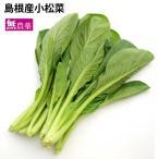 島根産 有機栽培 無農薬 小松菜 5把  送料無料