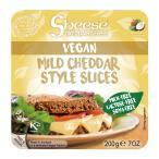 エディフィック スライスシーズ(植物性チーズ) マイルドチェダースタイル(冷蔵) 200g(約10枚) 2パック 送料込