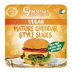 エディフィック スライスシーズ(植物性チーズ) 熟成チェダースタイル(冷蔵) 200g(約10枚) 2パック 送料無料