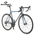 (選べる特典付き!)ロードバイク 2021 BASSO バッソ VIPER 105 ヴァイパー105 MAVIC KSYRIUM仕様 PETROLEUM  SHIMANO R7000 2×11SP REYNOLDS社製クロモリ