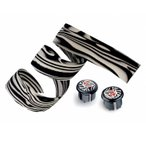 【cinelli】 チネリ BAR TAPE バーテープ Zebra Ribbon ゼブラリボン ブラック 607013-000002