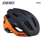 BBB ヘルメット BHE-29 KITE カイト マットブラック/オレンジ