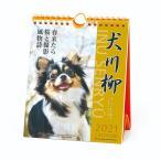 壁掛け 卓上 カレンダー 2021年 いぬ チワワ犬川柳 週めくり スケジュール APJ