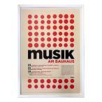 送料無料 Bauhaus バウハウス MusikamBauhaus IBH70044 額付グラフィックアートポスター 取寄品 プレゼント バースデー